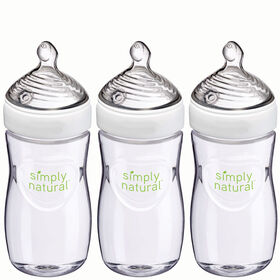 NUK Simply Natural Bottle 9oz - 3-Pack