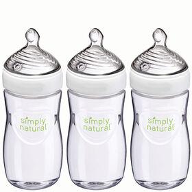 Biberon de 270 ml (9 oz liq.) Simply Natural – Emballage de 3.