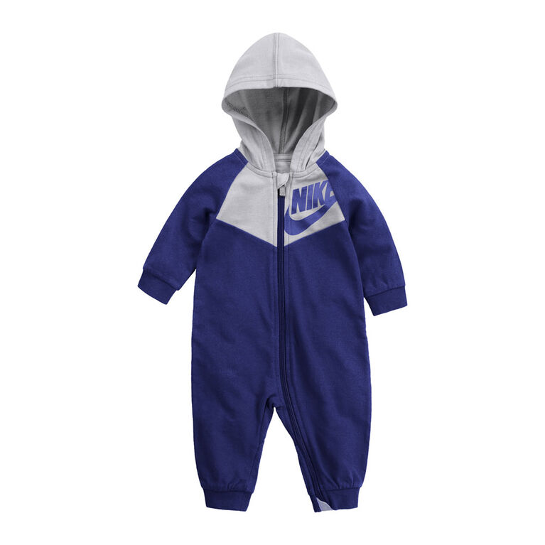 Nike Coverall - Blue, 6 Months