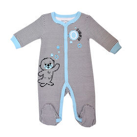 Fisher Price 1 piece Footed Sleeper - Blue, 3 months