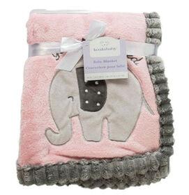 Koala Baby Couverture côtelée rose   éléphant.