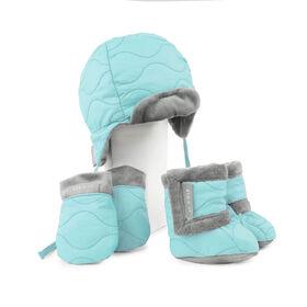 JJ Cole Baby Bomber Hat Set - 0 to 6 Months - Aqua