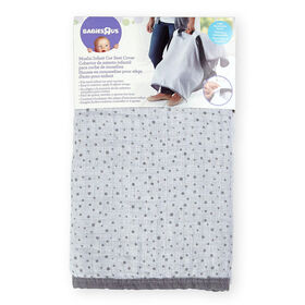 Babies R Us Muslin Infant Car Seat Cover - Dots