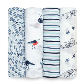 Aden Essentials - Seashore 4-Pack Swaddle