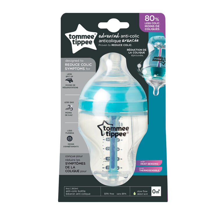 Tommee Tippee Advanced Anti-Colic Bottle, 9 oz.
