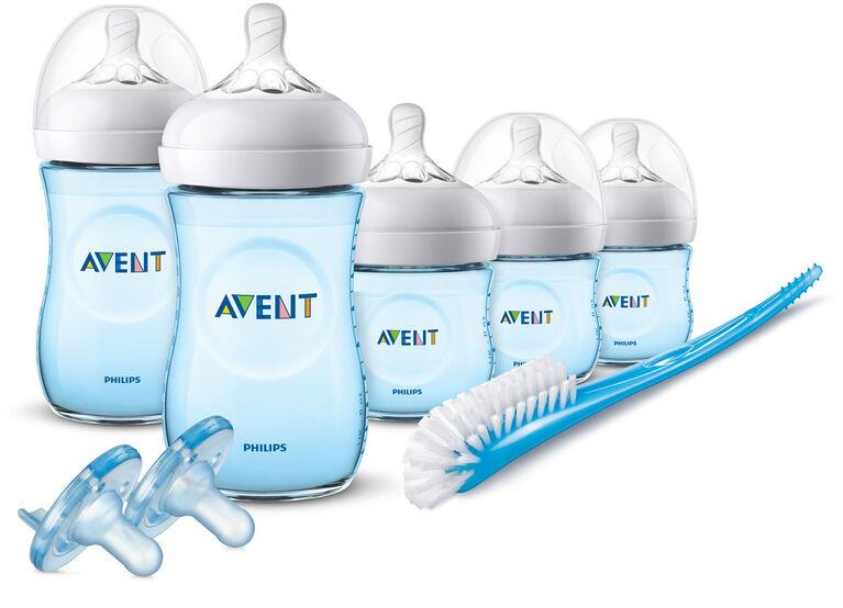 Philips Avent Natural Baby Bottle Blue Gift Set
