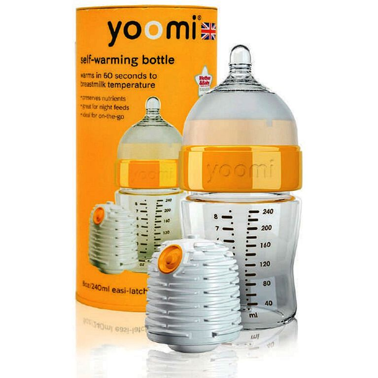 yoomi - 8oz Easy-Latch™ Bottle with Warmer
