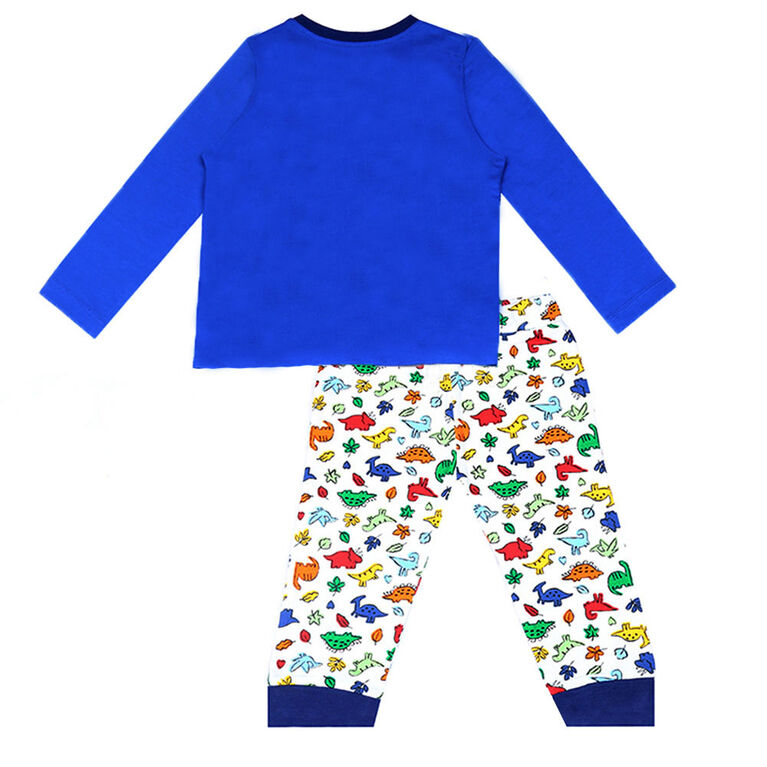 earth by art & eden - Bryan Pant 2 Piece Set Multi - Stong Blue Multi, 3 Months