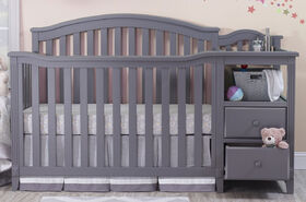 Sorelle Berkley Crib & Changer - Grey