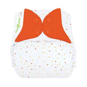 bumGenius Freetime All-In-One One-Size Cloth Diaper - Sassy Dots