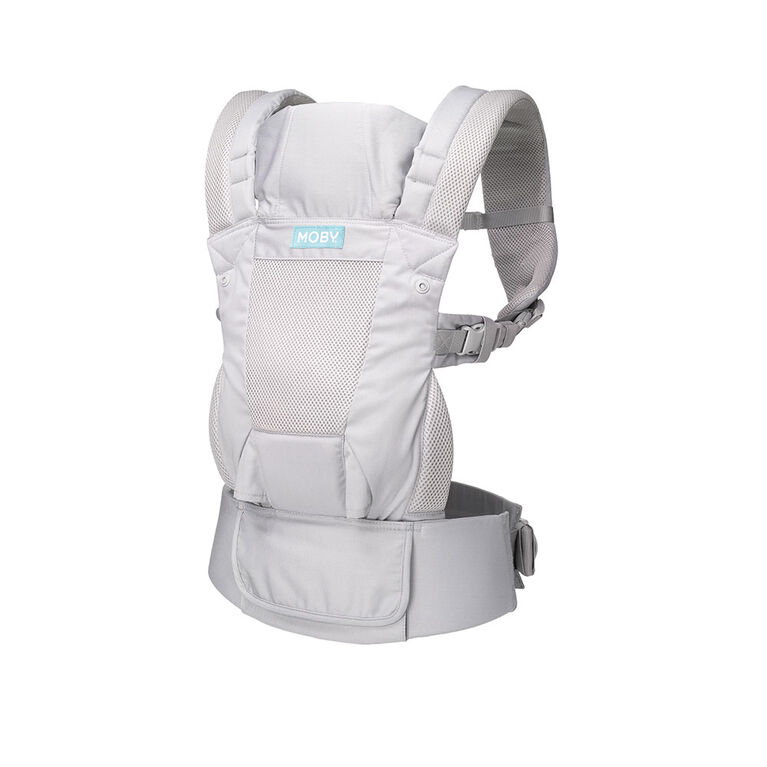 Moby - Move 4 Position Carrier - Charcoal Grey