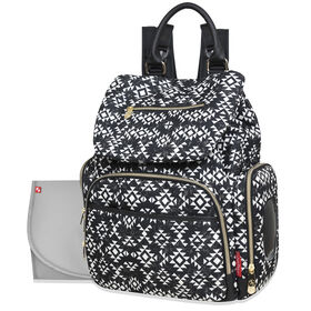 Sac à dos pour couches de Fisher-Price - Shiloh Aztec.