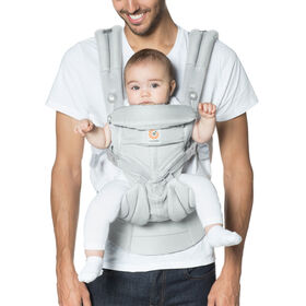 Ergobaby Omni 360 Cool Air Mesh All-in-One Ergonomic Baby Carrier -  Pearl Grey