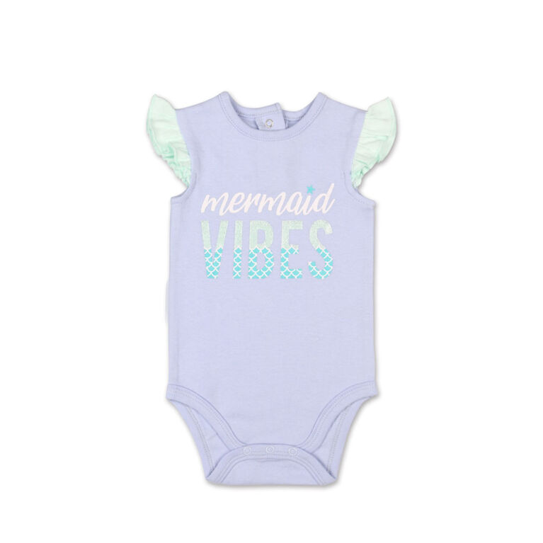 Combinaison avec volants aux manches Mermaid Vibes Koala Baby - 3-6 mois