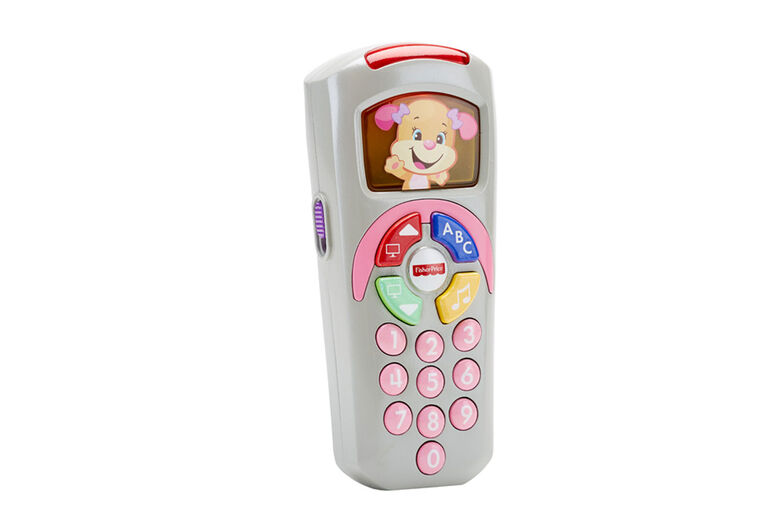 Fisher-Price Laugh & Learn Sis' Remote - French Edition