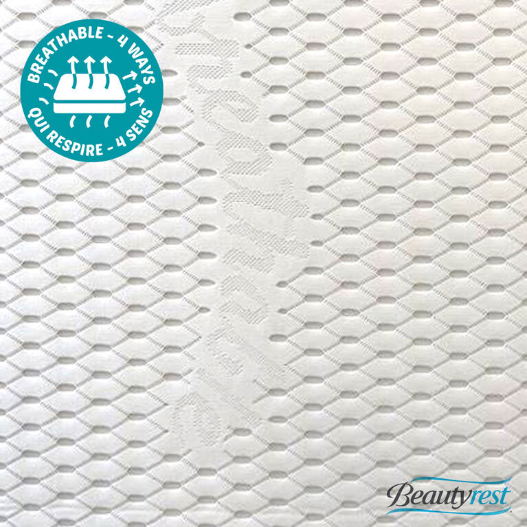 SIMMONS 100% BREATHABLE 2-Stage SUPER FIRM Crib Mattress
