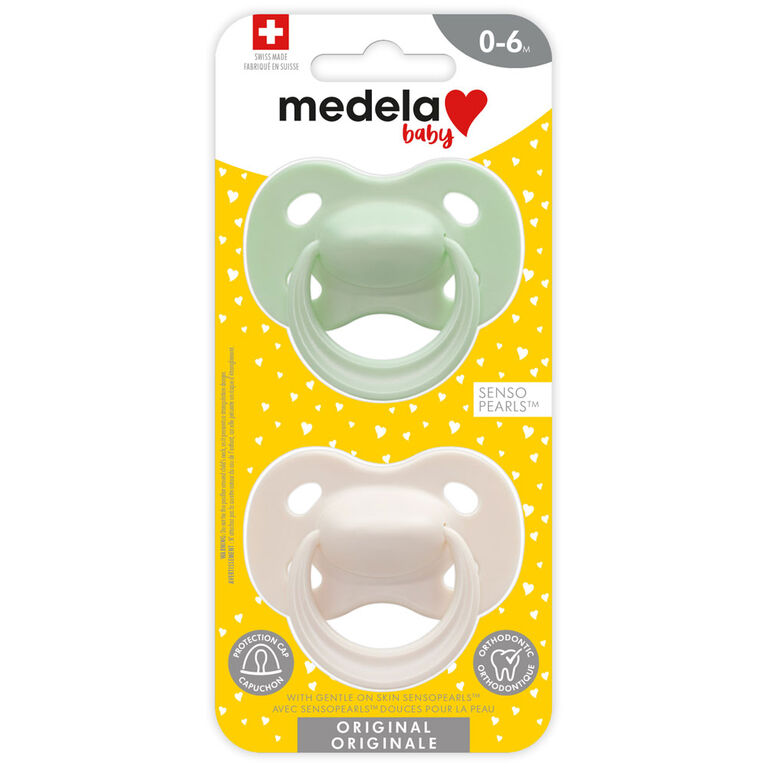Medela Baby Pacifier 0-6M Pastel Unisex