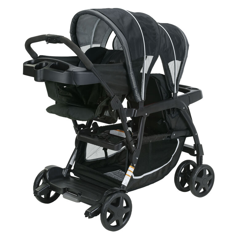 Poussette Graco Ready2Grow Click Connect Stand and Ride - Gotham.