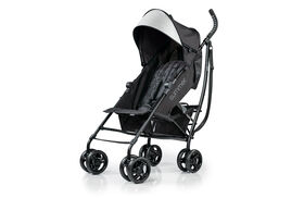 Summer Infant 3Dlite Convenience Stroller - Jet Black<br>