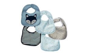 Emballage de 5 bavoirs en tricot de jersey Koala Baby.