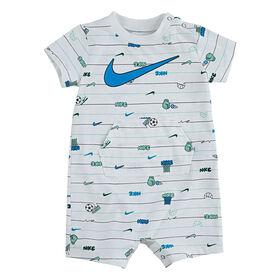 Nike Romper - White, 9 Months