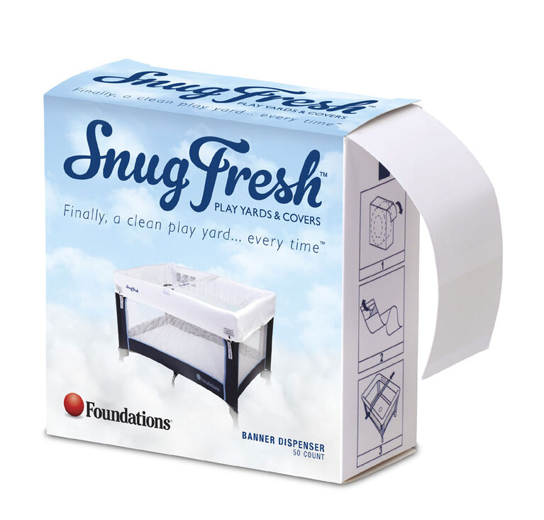 Foundations SnugFresh® Travel Yard Ribbons – (3) 50 pack dispensers