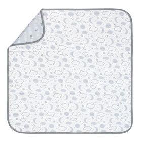 Gerber Organic 2 Ply Blanket, Clouds/Stars