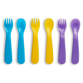 ColorReveal Color Changing Toddler Forks and Spoons - 6pk