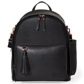 Skip Hop Greenwich Simply Chic Diaper Backpack - Black
