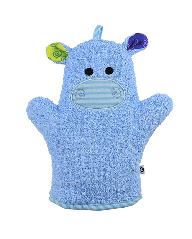 Zoocchini Bath Mitt - Henry the Hippo