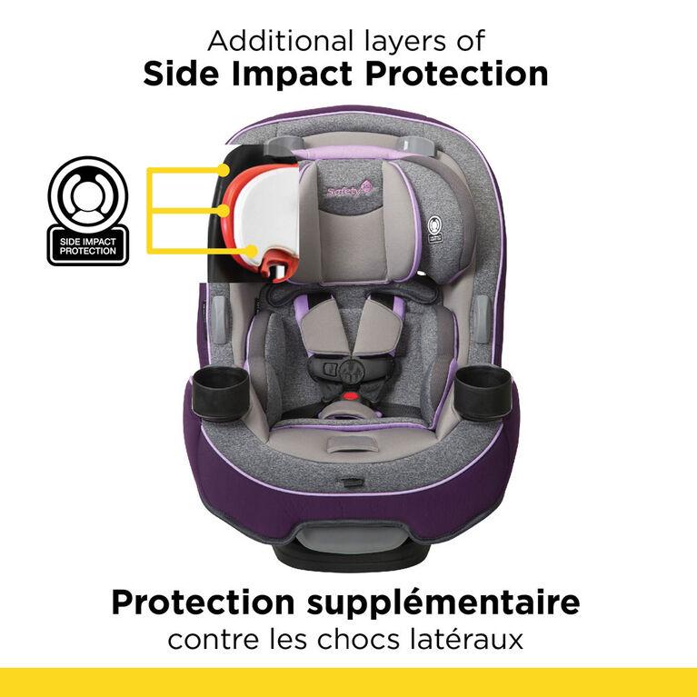 Le siège d'auto transformable Grow and Go 3-en-1 de Safety 1st - Sugar Plum.