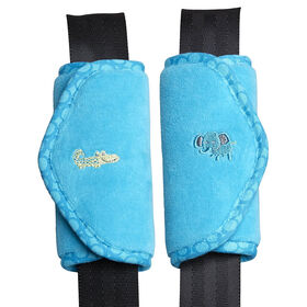 Babies R Us Deluxe Strap Covers 2 Pack - Aqua