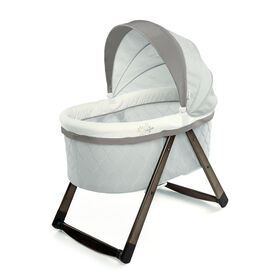 Ingenuity FoldAway Rocking Wood Bassinet - Carrington.