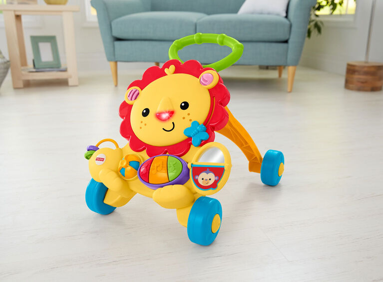 Fisher-Price Musical Lion Activity Walker