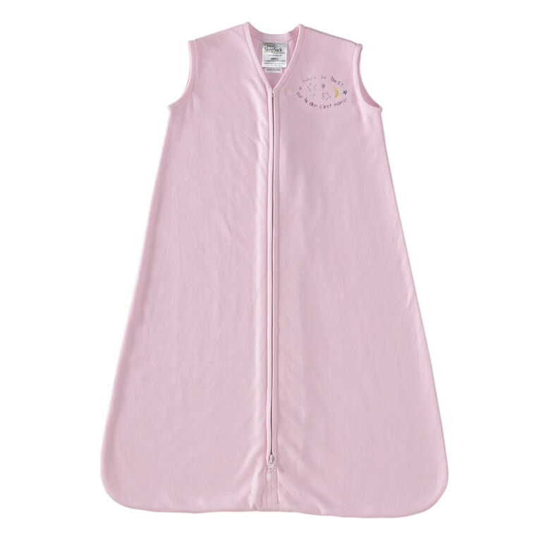 HALO SleepSack Wearable Blanket Cotton - Pink - Small