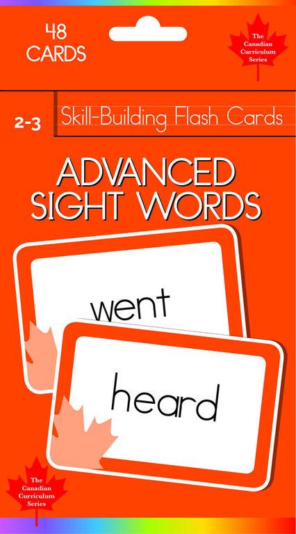 Grade 2-3 Skill Build-Advanced Sight Words - English Edition