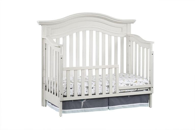 Barrière de lit de tout-petit Danbury par Oxford Baby - Blanc rétro - Notre exclusivité