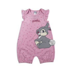 Disney Thumper barboteuse - rose, 3 mois.