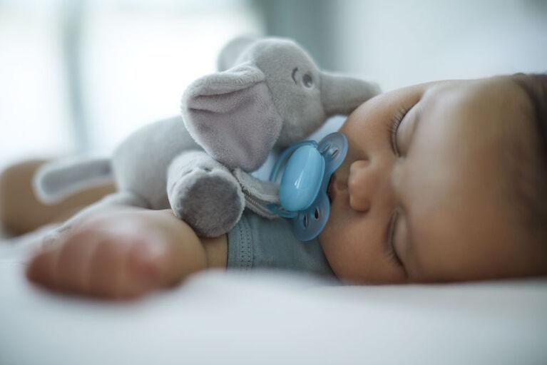 Philips Avent ultra soft snuggle, 0-6m, elephant