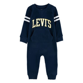 Levis Coverall - Blue, 18 Months