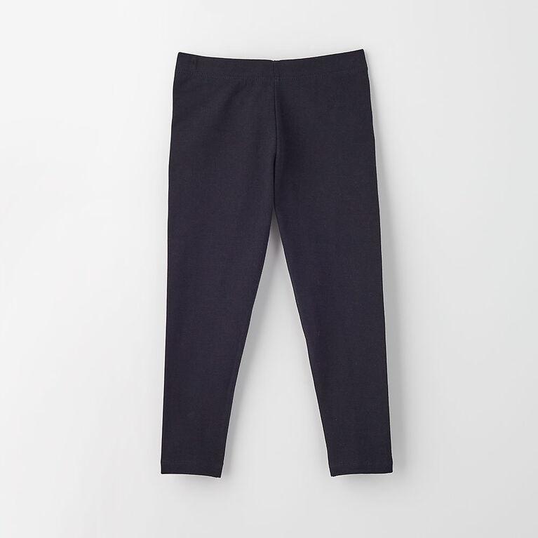 12-18m legging en coton biologique - noir