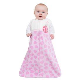 Halo SleepSack Wearable Blanket Micro-fleece - Pink Ladybug, Medium