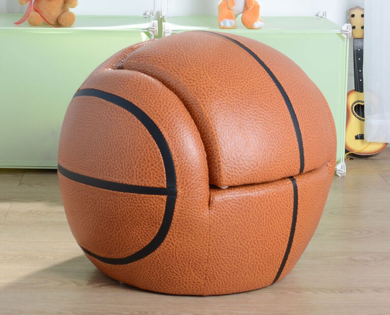 Basketball Chair with Stool