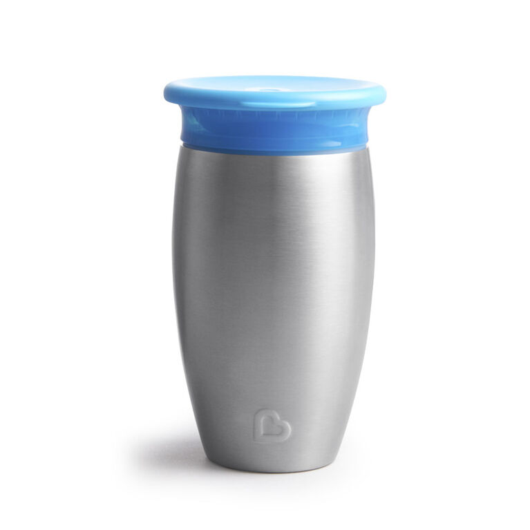 Miracle Stainless Steel 360° Sippy Cup - 10oz - Blue