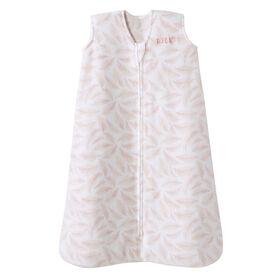 HALO SleepSack - Micro Fleece - Pink Leaves - Medium