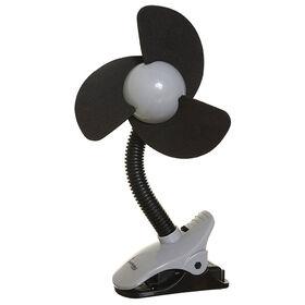 Dreambaby EZY-Fit Clip On Fan - Black