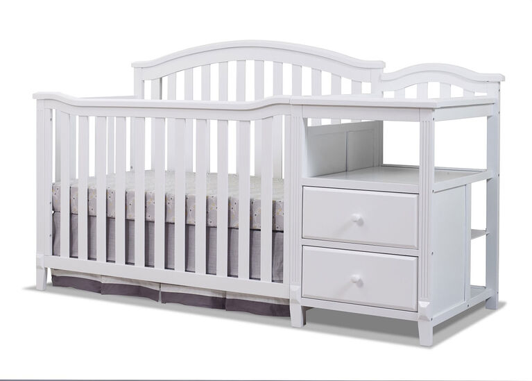 Sorelle Berkley Crib & Changer - White