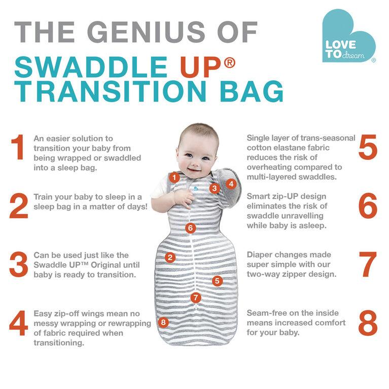Love to Dream Transition Bag Gray - Medium