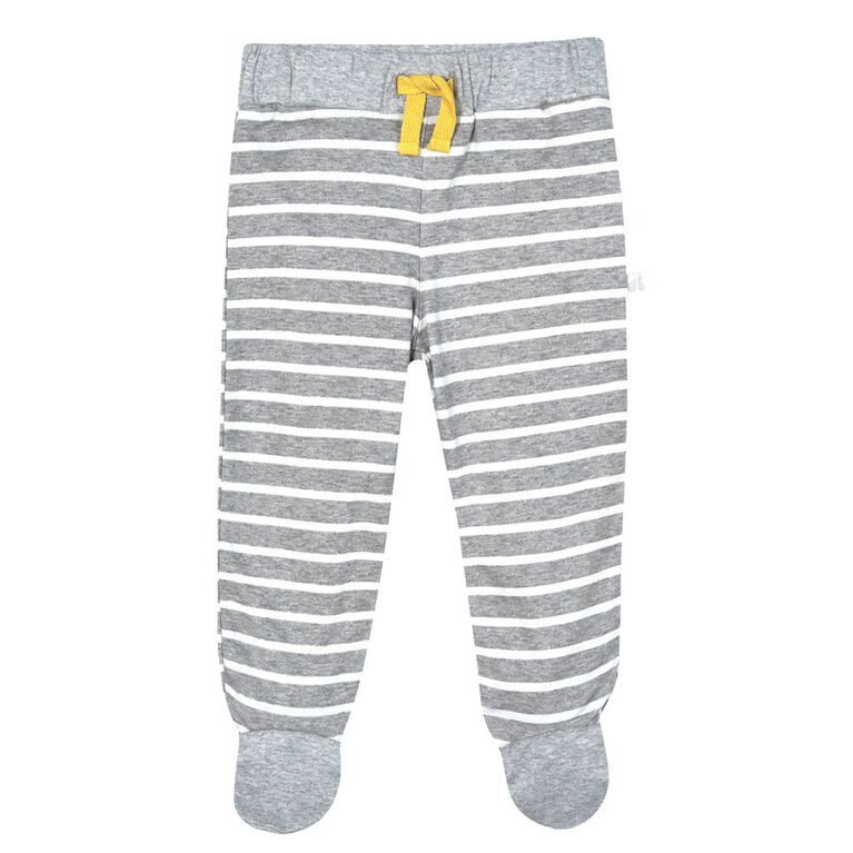 Just Born Baby Boys 3-Piece Organic Take Me Home Set - Lil Lion 0-3 Months