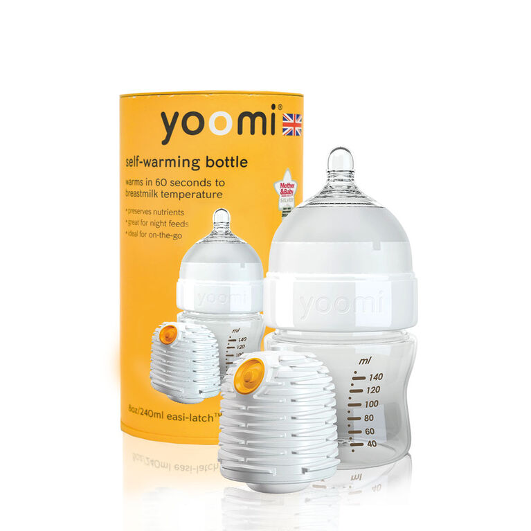 yoomi - 5oz Easy-Latch™ Bottle with Warmer